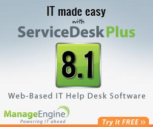ManageEngine - ENTERPRISE IT MANAGEMENT Software.